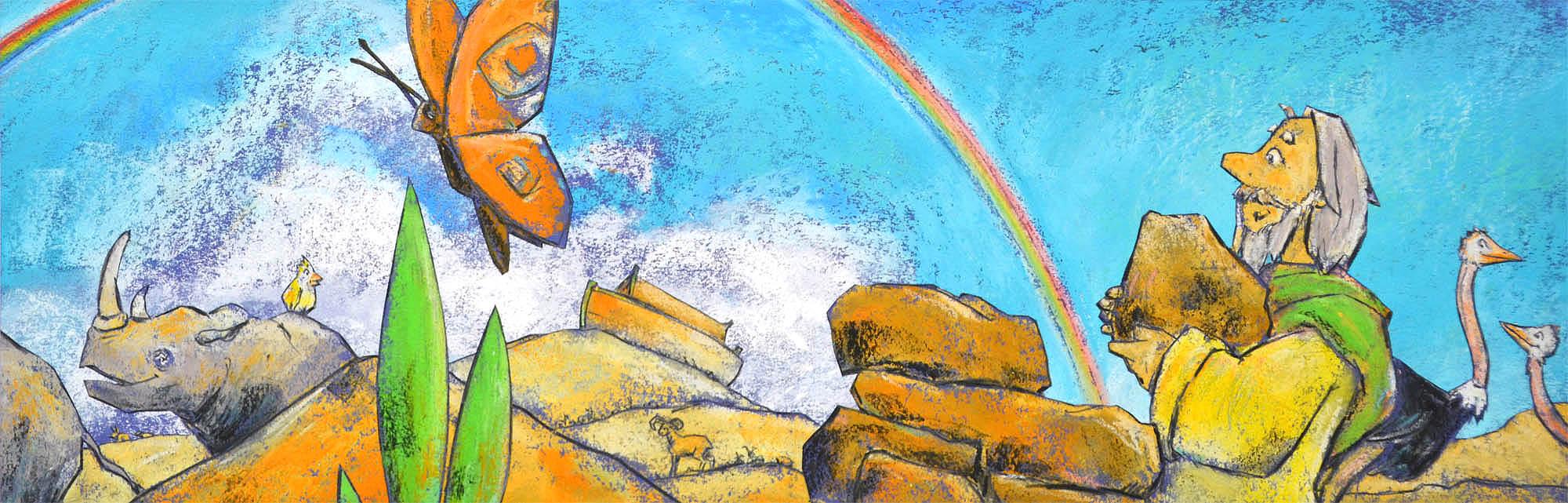 Arche Noah, Dieter Konsek, Kinderbibel