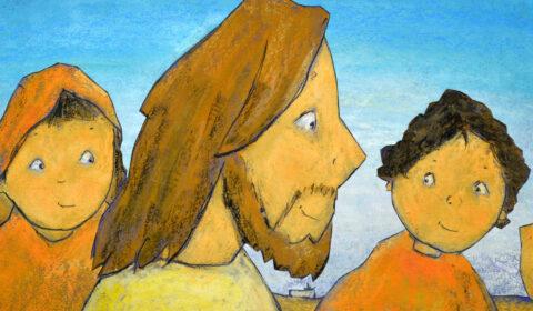 Jesus bei den Menschen, Bilderbuch, Dieter Konsek