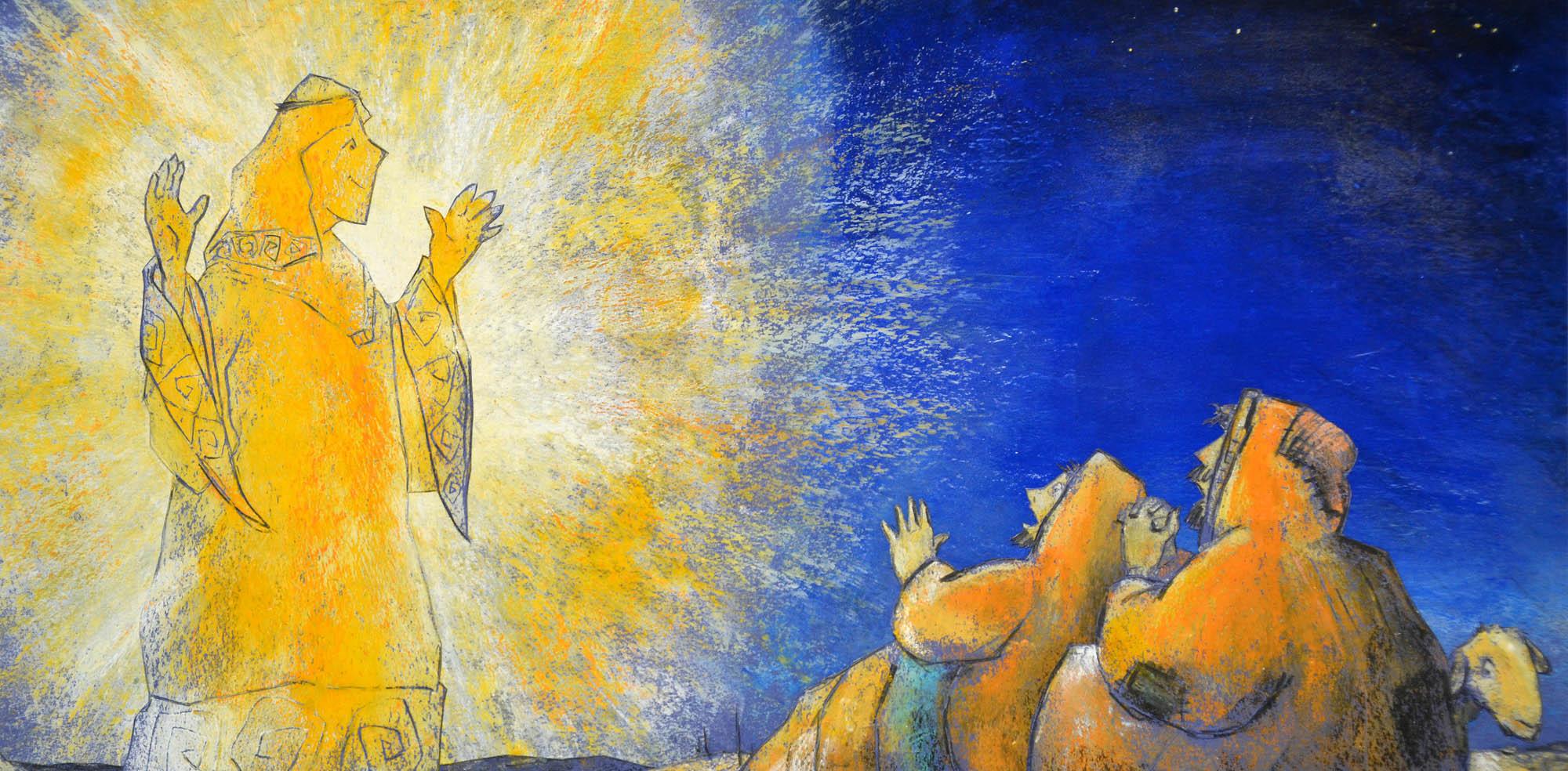 Jesu wird geboren, Bilderbuch, Dieter Konsek