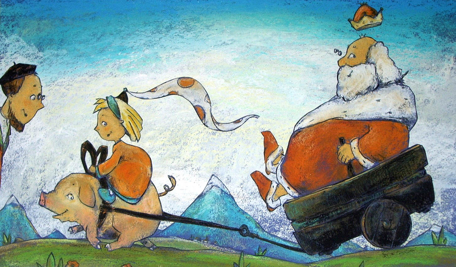 Jule und die Traumvögel © Dieter Konsek, Bilderbuch
