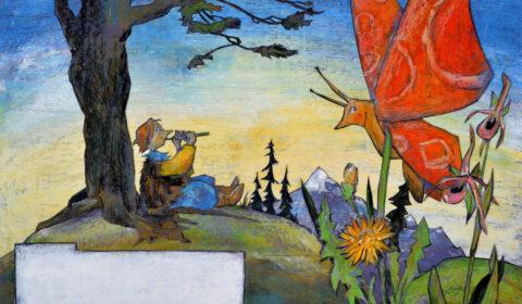 Vincent und das Farbenwunder© Dieter Konsek, Bilderbuch